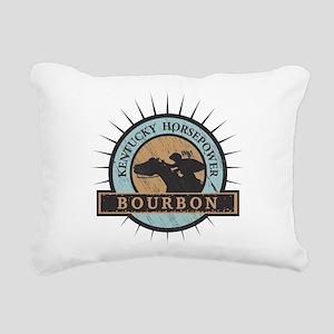 Kentucky Horsepower - BO Rectangular Canvas Pillow