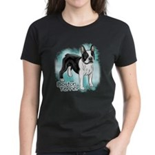 Boston Terrier Women's Dark T-Shirt