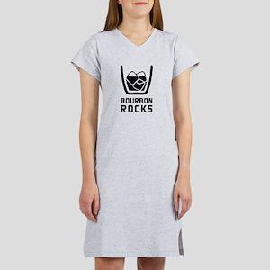 Bourbon Rocks Women's Nightshirt