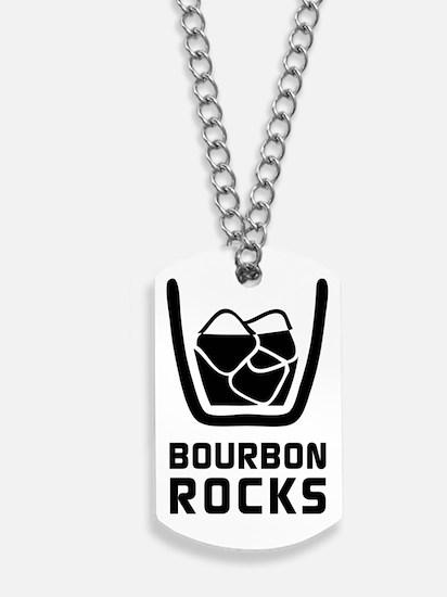 Bourbon Rocks Dog Tags