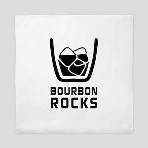 Bourbon Rocks Queen Duvet