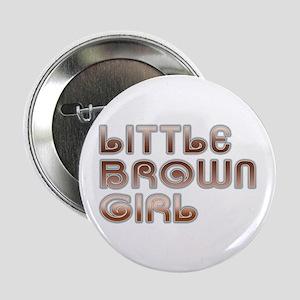 Little Brown Girl Button
