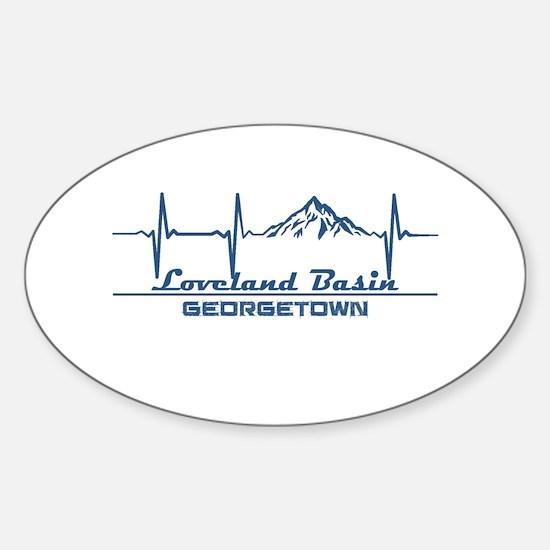 Loveland Basin - Georgetown - Colorado Decal