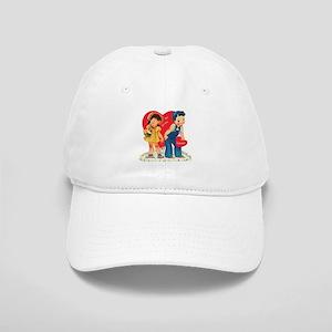 Vintage Valentine's Day Cap