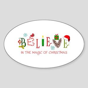 Magic Of Christmas Sticker