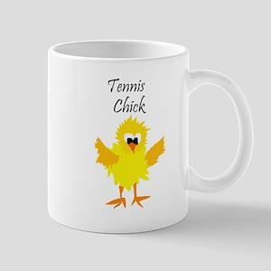 Funny Tennis Chick Mugs