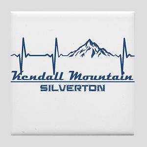 Kendall Mountain Ski Area - Silvert Tile Coaster