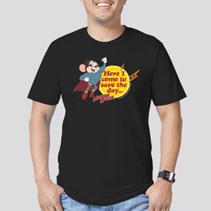 Mighty Mouse: Save The Men's Fitted T-Shirt (dark)