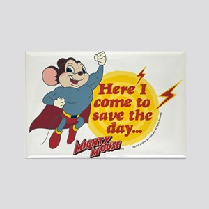 Mighty Mouse: Save The Day Rectangle Magnet