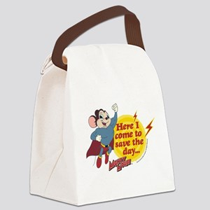 Mighty Mouse: Save The Day Canvas Lunch Bag