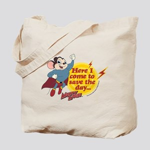 Mighty Mouse: Save The Day Tote Bag
