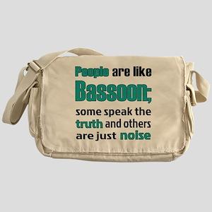 People are like Bassoon Messenger Bag