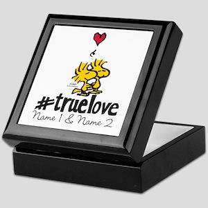 Woodstock True Love - Personalized Keepsake Box