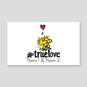 Woodstock True Love - Persona Rectangle Car Magnet