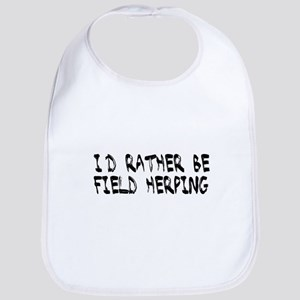 I'd rather be field herping Bib