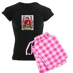 Menichetto Women's Dark Pajamas