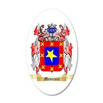 Menicacci 20x12 Oval Wall Decal