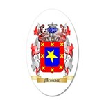 Menicacci 35x21 Oval Wall Decal