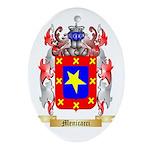 Menicacci Oval Ornament