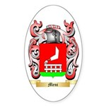 Meni Sticker (Oval 50 pk)