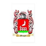 Mengue Sticker (Rectangle 10 pk)