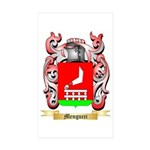 Mengucci Sticker (Rectangle 50 pk)