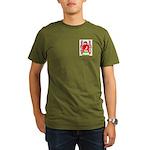 Menghelli Organic Men's T-Shirt (dark)