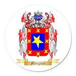 Mengazzi Round Car Magnet