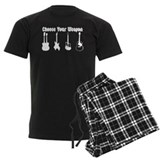 Guitar Men's Dark Pajamas