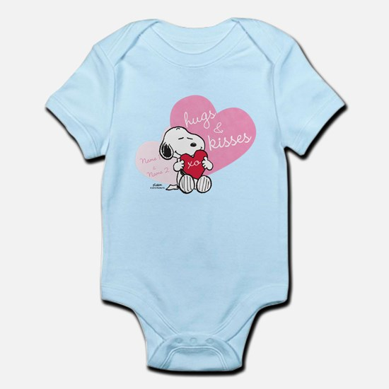 Snoopy Hugs and Kisses - Personali Infant Bodysuit