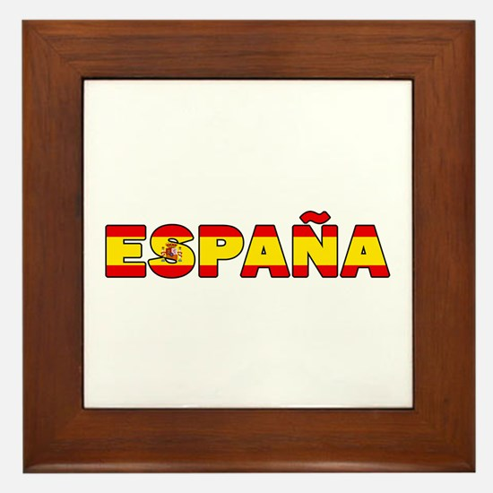Espana Framed Tile