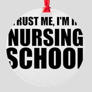 Trust Me, I'm In Nursing School Ornament