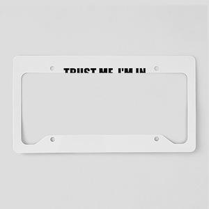 Trust Me, I'm In Nursing School License Plate Hold