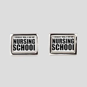 Trust Me, I'm In Nursing School Rectangular Cuffli