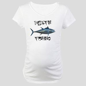Bluefin Fishing Maternity T-Shirt