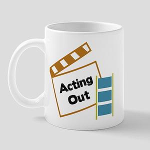 Acting Out Mug