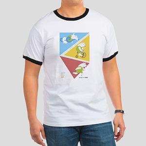 Triathlon Polar Bears Poster T-Shirt