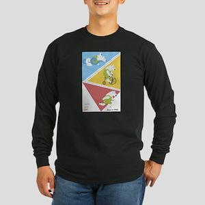 Triathlon Polar Bears Poster Long Sleeve T-Shirt