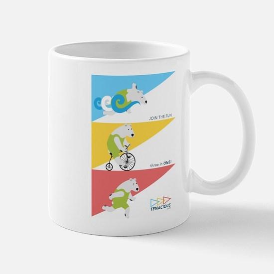 Polar Bear Triathletes Ad Mugs
