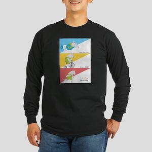 Polar Bear Triathletes Ad Long Sleeve T-Shirt
