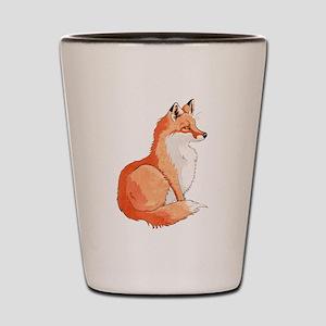 Sitting Fox Shot Glass
