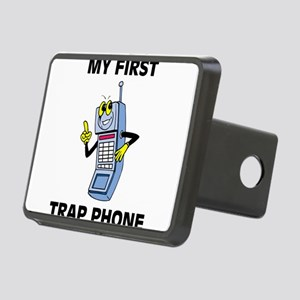 My First Trap Phone Rectangular Hitch Cover