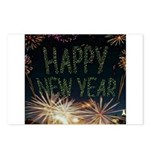 Happy New Year Postcards (Package of 8)