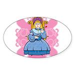 Princess Sticker (Oval)