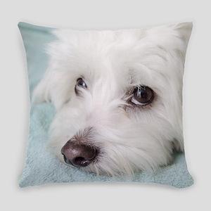 coton de tulear Everyday Pillow