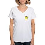 Meneses Women's V-Neck T-Shirt