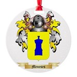 Meneses Round Ornament