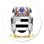 Menescal Round Car Magnet