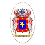 Meneguzzi Sticker (Oval 50 pk)