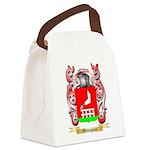 Menegucci Canvas Lunch Bag